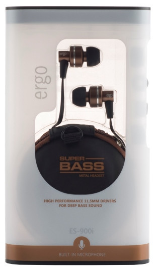Audio/h ERGO ES-900i Bronze