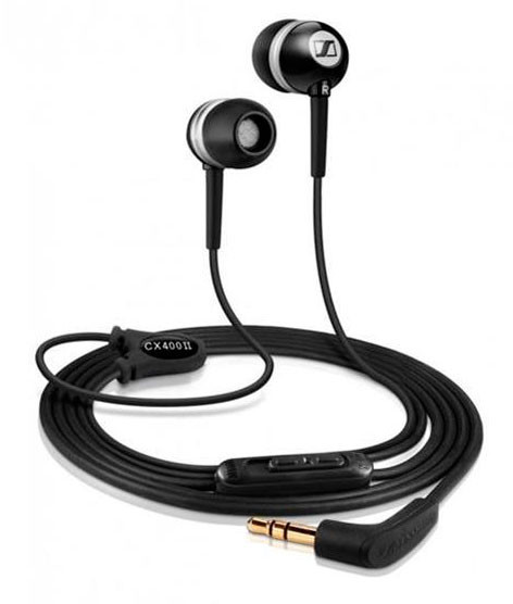 Наушники SENNHEISER CX 400-II Precision Black