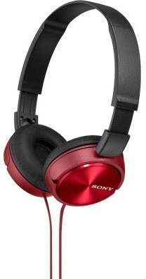 Наушники Sony MDR-ZX310R Red