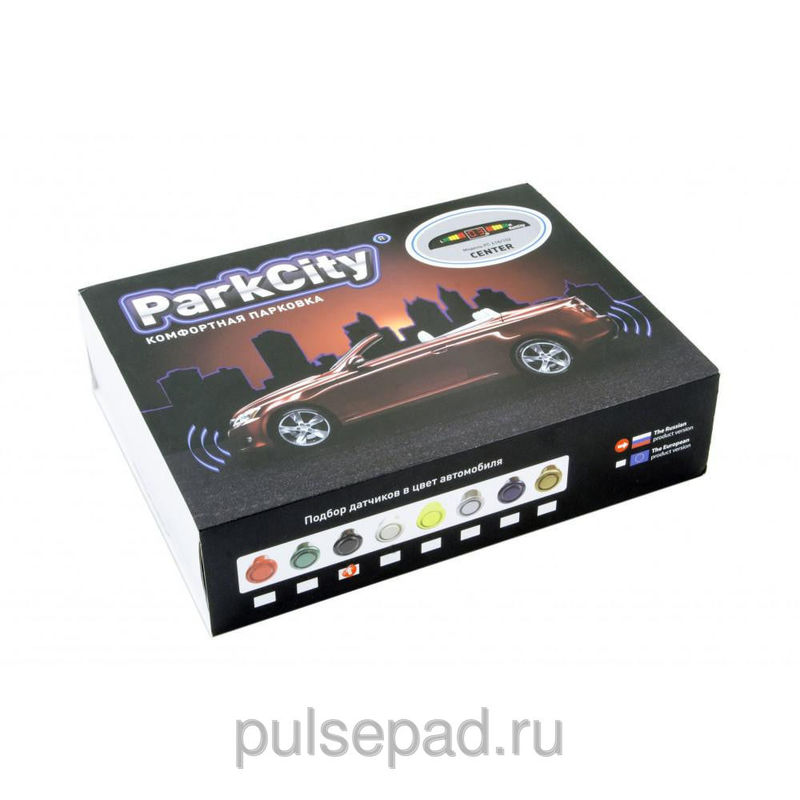 Парктроник ParkCity Center 418/102 LW черный
