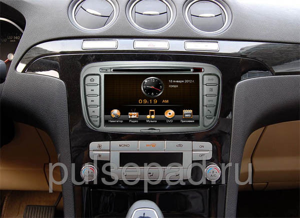 Штатная магнитола Synteko Ford Focus 2, Mondeo 2008+, C-Max, S-Max, Galaxy new