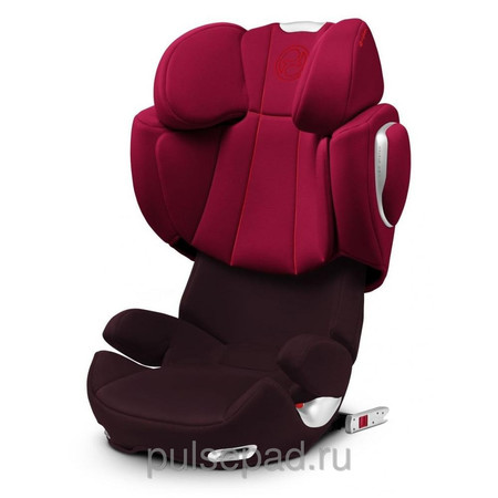 Автокресло Cybex Solution Q-fix Strawberry Dark Red (514120013)