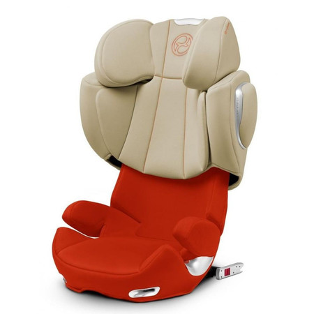 Автокресло Cybex Solution Q-fix Autumn Gold Burnt Red (514120017)