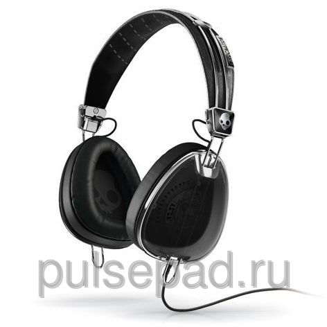 НАУШНИКИ SKULLCANDY AVIATOR BLACK W/MIC3