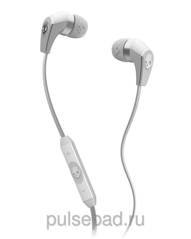 НАУШНИКИ SKULLCANDY 50/50 WHITE/CHROME W/MIC3