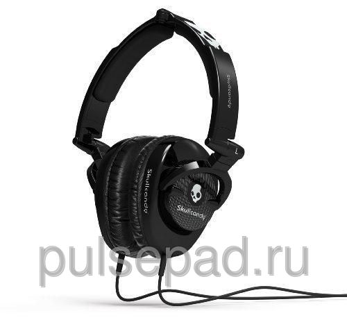 НАУШНИКИ SKULLCANDY SKULLCRUSHER BLACK