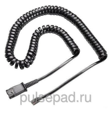 КАБЕЛЬ PLANTRONICS PRACTICA QD CABLE,CISCO