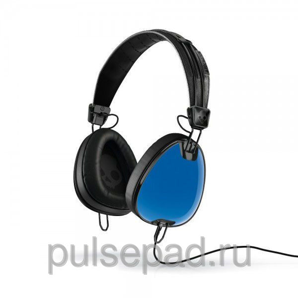 НАУШНИКИ SKULLCANDY AVIATOR ROYAL BLUE/ BLACK W/MIC3