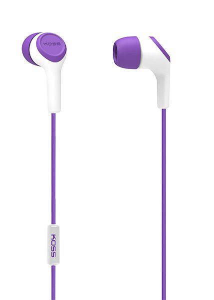 НАУШНИКИ KOSS KEB15I PURPLE