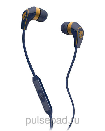НАУШНИКИ SKULLCANDY 50/50 NAVY/GOLD W/MIC 3