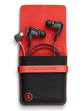 НАУШНИКИ PLANTRONICS BACKBEAT GO 2 BLACK CASE
