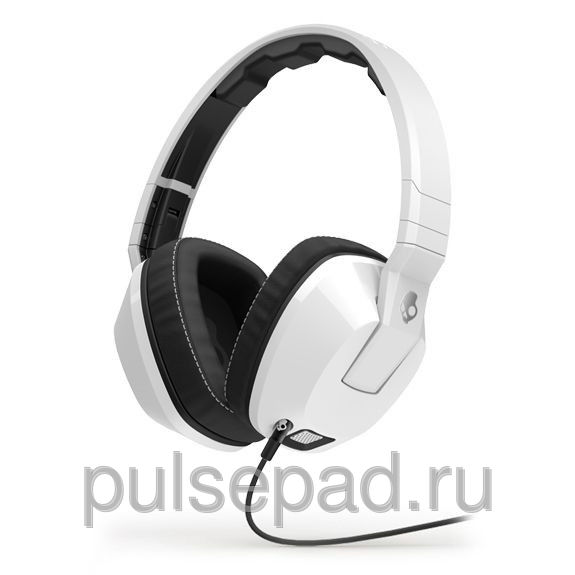 НАУШНИКИ SKULLCANDY CRUSHER WHITE MIC1