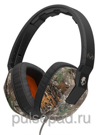 НАУШНИКИ SKULLCANDY CRUSHER CAMO/SLATE/ORANGE MIC1