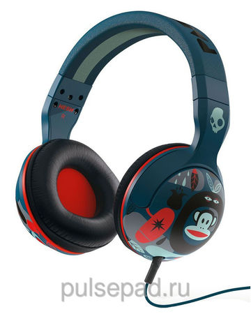 НАУШНИКИ SKULLCANDY HESH 2.0 PAUL FRANK NAVY/RED