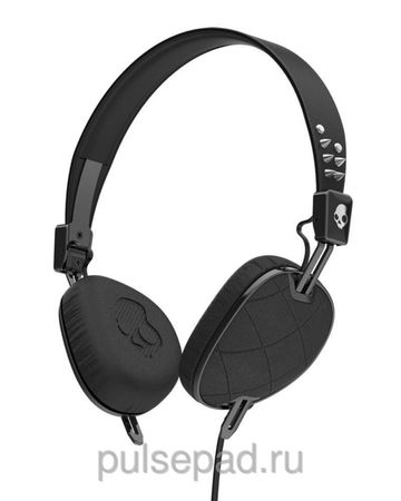 Наушники SkullCandy Knockout Quilted Black Mic3