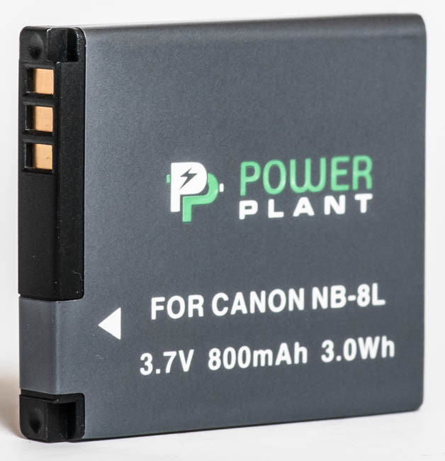 Aккумулятор PowerPlant Canon NB-8L
