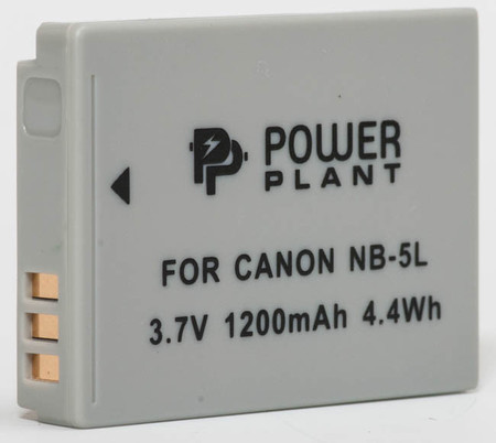 Aккумулятор PowerPlant Canon NB-5L