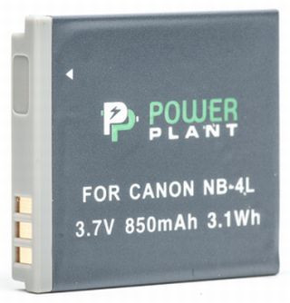 Aккумулятор PowerPlant Canon NB-4L