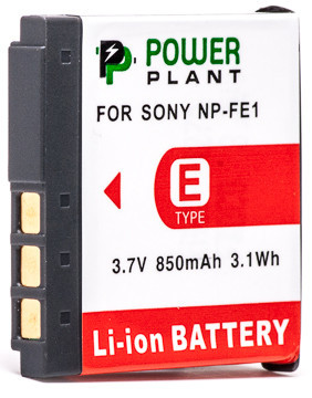 Aккумулятор PowerPlant Sony NP-FE1