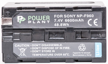 Aккумулятор PowerPlant LED NP-F960