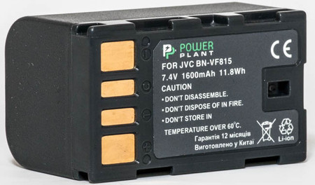 Aккумулятор PowerPlant JVC BN-VF815
