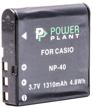 Aккумулятор PowerPlant Casio NP-40