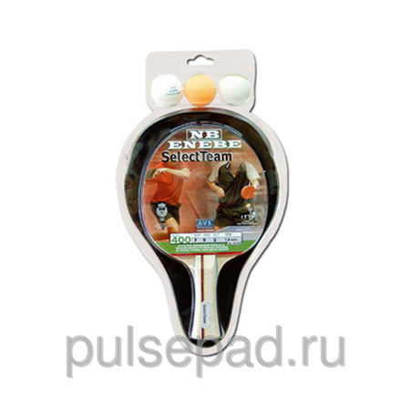 Теннисный набор Enebe SELECT TEAM (1 BAT, 3 BALLS and BAT COVER)
