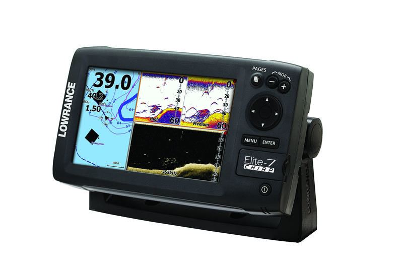 Картплоттер Lowrance Elite-7 CHIRP