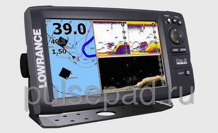 Картплоттер Lowrance Elite-9 CHIRP