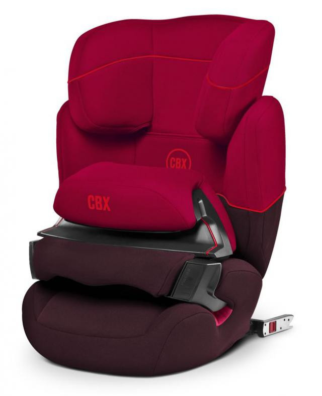 Автокресло Cybex Aura Fix Rumba Red (514107064)