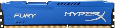 Оперативная память Kingston HyperX OC DDR3 4 GB 1600 MHz CL10 Fury Blue Retail