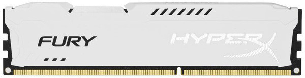 Оперативная память Kingston HyperX OC DDR3 4 GB 1600 MHz CL10 Fury White Retail