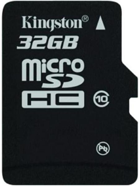 Карта памяти Kingston microSDHC 32 GB Class 10 no adapter