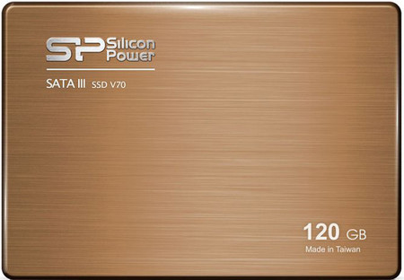 Накопитель Silicon Power 120 GB SSD V70 SATAIII 2.5 (+3.5 адаптер)