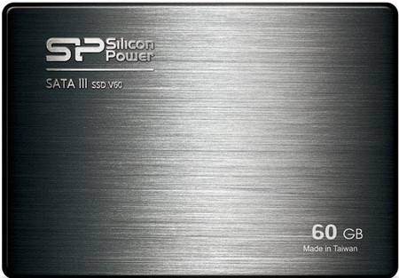 Накопитель Silicon Power 60 GB SSD Velox V60 SATAIII 2.5 (+3.5 адаптер)