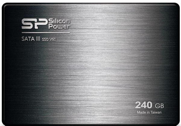 Накопитель Silicon Power 240 GB SSD Velox V60 SATAIII 2.5 (+3.5 адаптер)