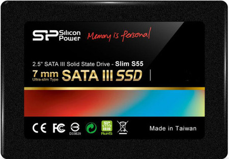 Накопитель Silicon Power 240 GB S55 SATAIII 2.5 (+3.5 адаптер)