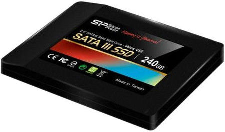 Накопитель Silicon Power 240 GB SSD V55 SATAIII 2.5 (+3.5 адаптер)