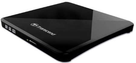 Оптический привод Transcend TS8XDVDS-K Ultra Slim Black USB 2.0 Retail (External)