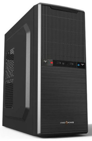 Корпус Logicpower 5901 450W 12cm Black case chassis and PSU cover