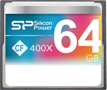 Карта памяти Silicon Power Compact Flash 400x 64 GB