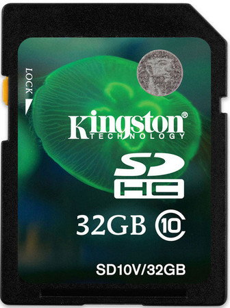 Карта памяти Kingston SDHC 32 GB Class 10 Entry Level