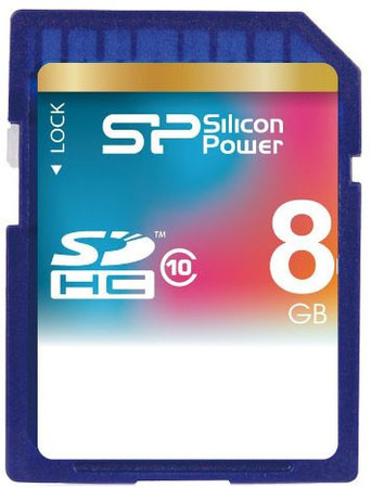 Карта памяти Silicon Power SDHC 8 GB Class 10