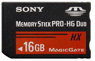 Карта памяти Sony Memory Stick Pro Duo HG 16 GB No adapter
