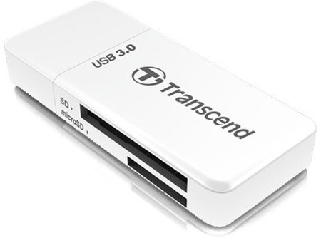 Кардридер Transcend TS-RDF5W 5-in-1 USB 3.0 White