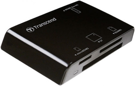 Картридер Transcend TS-RDP8K All-in-1 Black