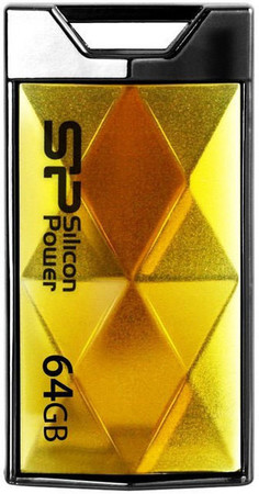 Flash Drive Silicon Power Touch 850 64 GB Amber