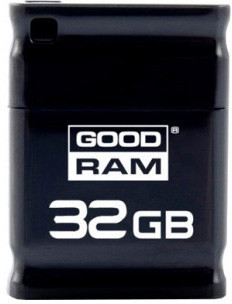 Flash Drive Goodram PICCOLO 32 GB Black Retail 10