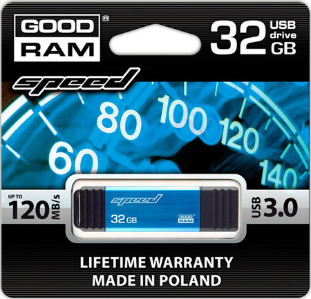 Flash Drive GOODRAM Speed 32 GB Blue USB 3.0