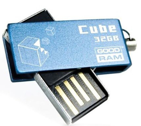 Flash Drive GOODRAM Cube 32 GB Blue